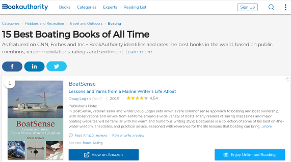 BoatSense-top-book-authority